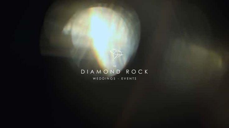 The Diamond Rock   Weddings in Santorini   Backstages
