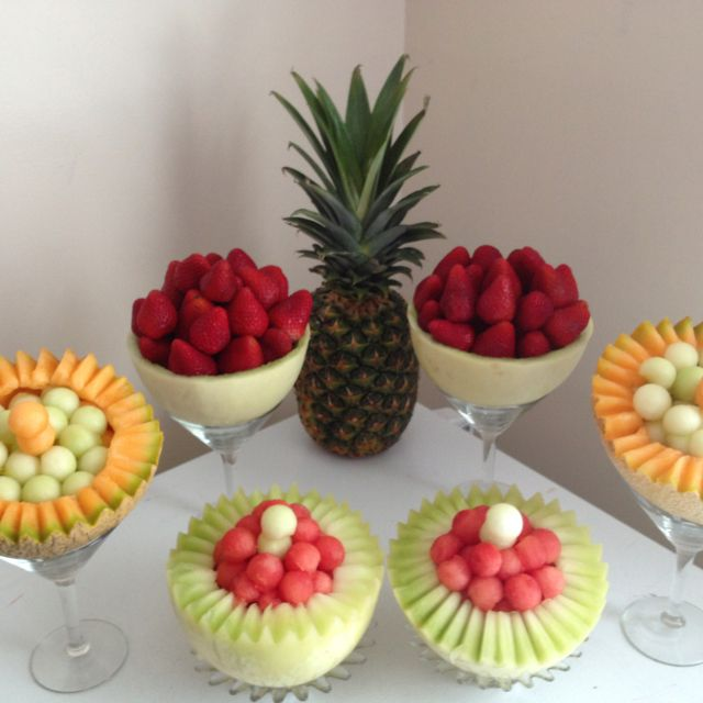 Best fruit tables ideas on pinterest buffet