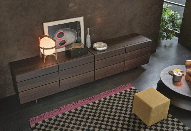 POLIFORM: Pandora chest, Soori small table, Play pouf