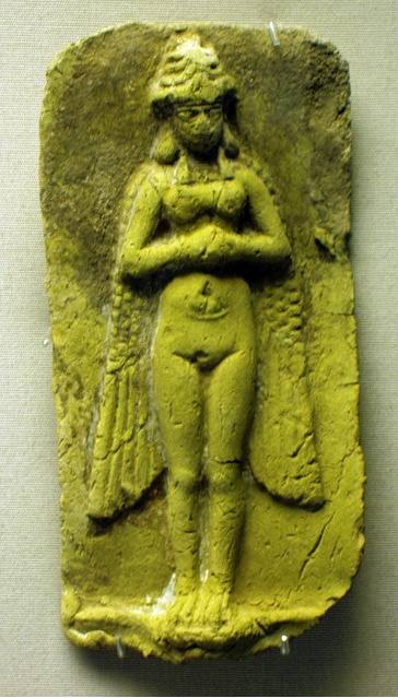 "Inanna/Ishtar is the Sumerian goddess of sexual love, fertility, and warfare. Alternative Sumerian names include Innin, Ennin, Ninnin, Ninni, Ninanna, Ninnar, Innina, Ennina, Irnina, Innini, Nana and Nin, commonly derived from an earlier Nin-ana ""lady of the sky"", although Gelb (1960) presented the suggestion that the oldest form is Innin (DINNIN) and that Ninni, Nin-anna and Irnina are independent goddesses in origin."
