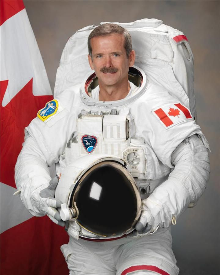 Celebrate #Movember with Chris Hadfield's new book An Astronaut's Guide to Life