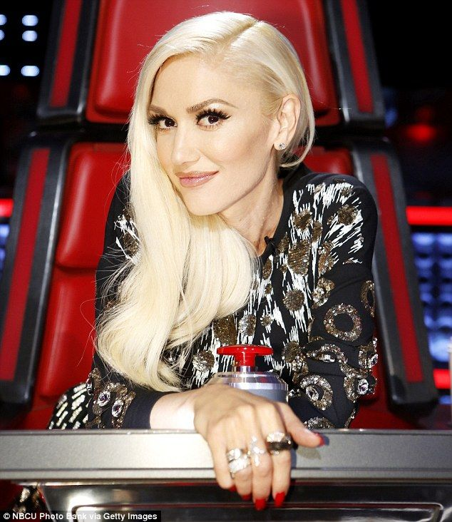 Building her team: Gwen Stefani used a stylish steal on Monday's episode of The Voice on N...