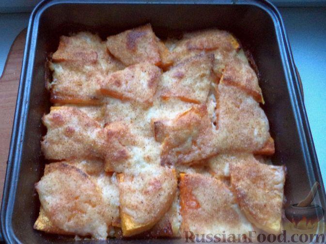 Фото к рецепту: Тыква под молочным соусом