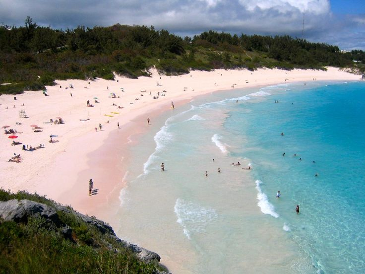 Horseshoe Bay Beach, Bermuda, beach, island