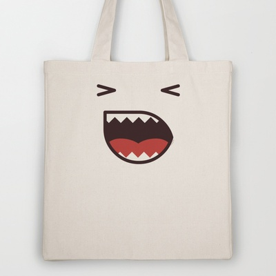 Angry Tote Bag by Playmoji ® - $18.00