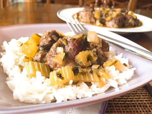 Gourmelita: Κρέας Λεμονάτο με Σέλινο