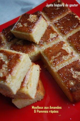 Une nouvelle petite recette sans beurre que j'ai apprécié, et oui pour obtenir du moelleux j'ai mis de la compote de pomme et des pommes râpées...un vrai délice rapide à préparer!! Avec le moule Tablette Flexipan (150 cl) Ingrédients : - 3 oeufs - 70g...