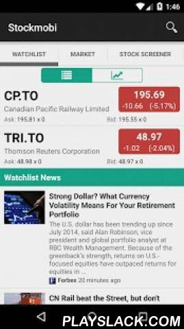 Stockcharts: Canada TSX/TSX-V  Android App - playslack.com ,  Stockcharts: Canada TSX/TSX-V provides the best Canadian stock screener and navigating tool on mobile devices for investors and stock traders. It is fast, reliable, and easy to use:- Quickly navigate through lists of stocks by swiping LEFT or RIGHT- Easy access the updated news on each stock by swiping up or down- Build your own portfolio and examine the chart of each stock quickly- Customize your screener: Top Popular Stocks, Top…