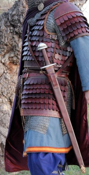 Practical armour in the Furies' favourite colour!