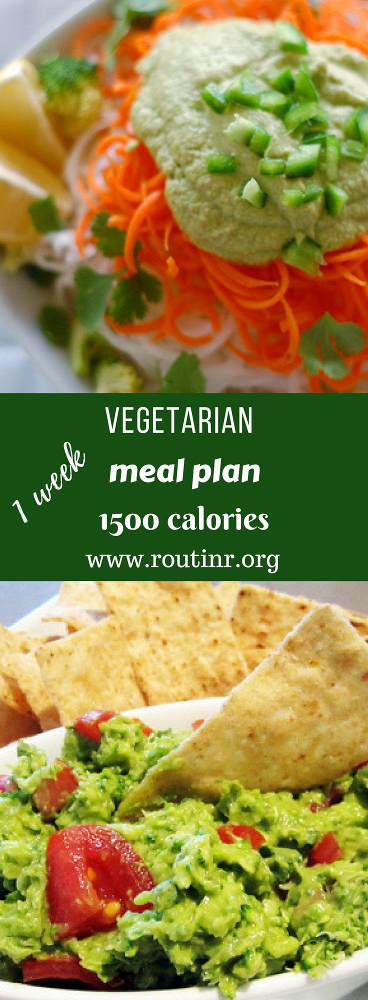 1500 calorie vegetarian meal plan pdf