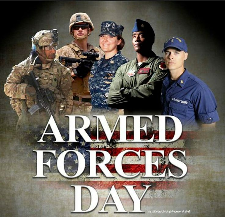 #Thanks4yourservice and sacrifices @usairforce @usarmy @USMC @uscoastguard & @USNavy! ❤ #ArmedForcesDay  #GuardiansOfFreedom 😁 #4recoveryrelief.