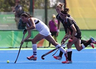 Whitelock, Kayla, Oldhafer, Pia-Sophie - Hockey - New Zealand, Germany - Women - Women's Bronze Medal Match - Olympic Hockey Centre