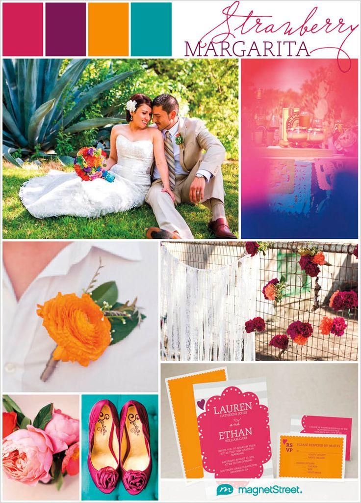 Bright and Colorful Wedding Inspiration! Inspiration for a Cinco de Mayo Wedding