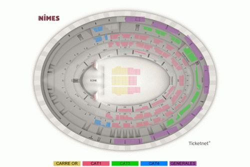 Paris Eventicket - Billetterie de spectacle - CONCERT - FESTIVALS - LES VIEILLES CANAILLES - NIMES - - ARENES DE NIMES