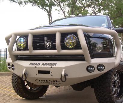 10+ DODGE 2500,3500 | Road Armor