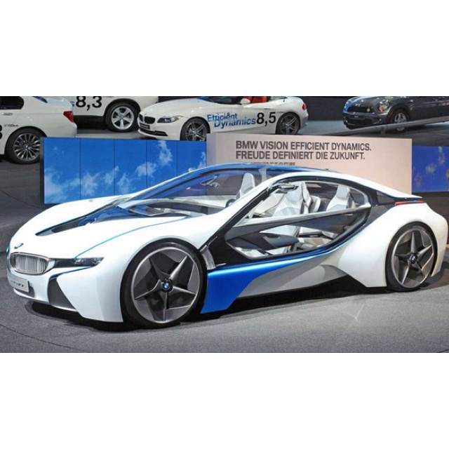 Bmw I8 The Car From Mission Impossible Ghost Protocol Technology