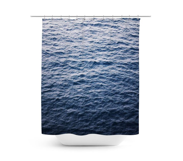 Add a touch of the dark blue sea to your nautical style bathroom settings ...
