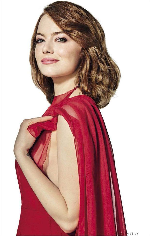 Emma Stone Star in Vanity Fair Italia January 2017