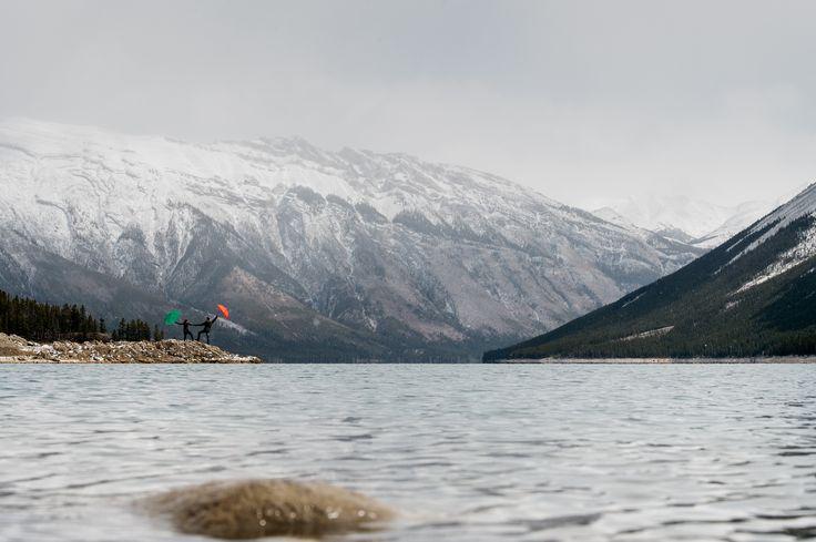 Lake Minewanka - Engagement Shoot