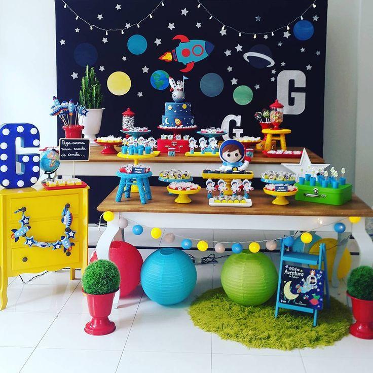 astronaut party theme - 736×736
