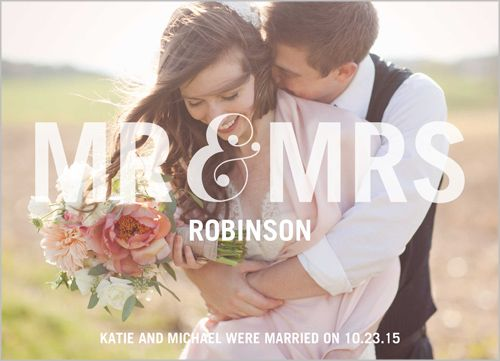 Social Titles Wedding Announcement | Stationery, Wedding and Weddings