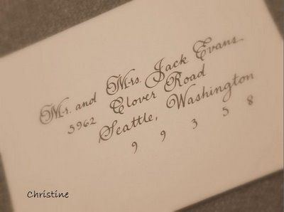 wedding envelope addressing etiquette for outer envelope only invitations like the font too - Wedding Invitation Envelope Etiquette