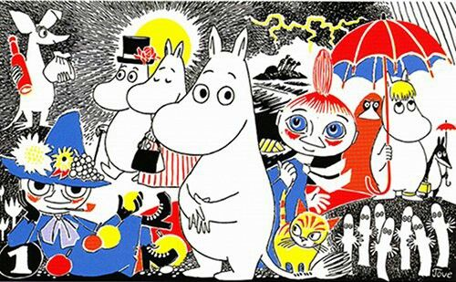 """Tove Jansson -""""Adventures in Moominland""""  A new exhibition at London's Southbank Centre, """"Adventures in Moominland,"""" celebrates the author, artist and illustrator Tove Jansson's Moomin series of children's books. Here, some of Jansson's characters."""
