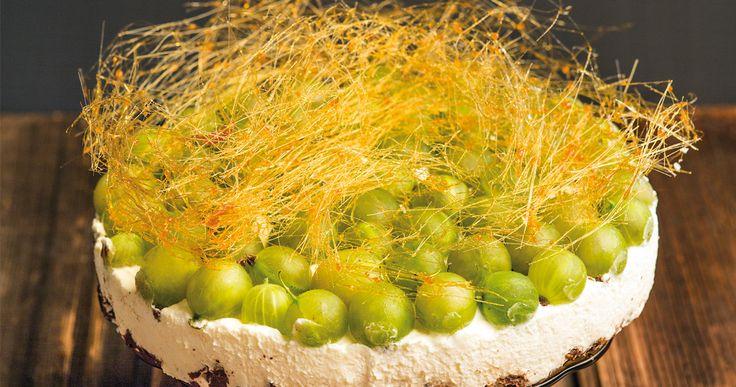 #ciasto agrestowe. #cake #gooseberry #pie #delektujemy #desert