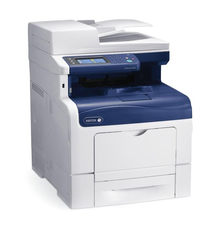 Xerox WorkCentre 6605DN Color Laser Fax Copier Printer Scanner USB Ethernet 6605-DN