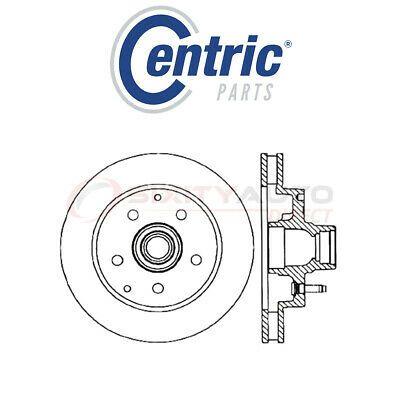 (Sponsored eBay) Centric Drilled & Slotted Disc Brake