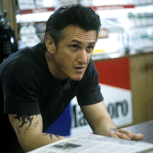 "Sean Penn in ""Mystic River"". Clint Eastwood directed. One of my top 5 faves! Extremely good movie"
