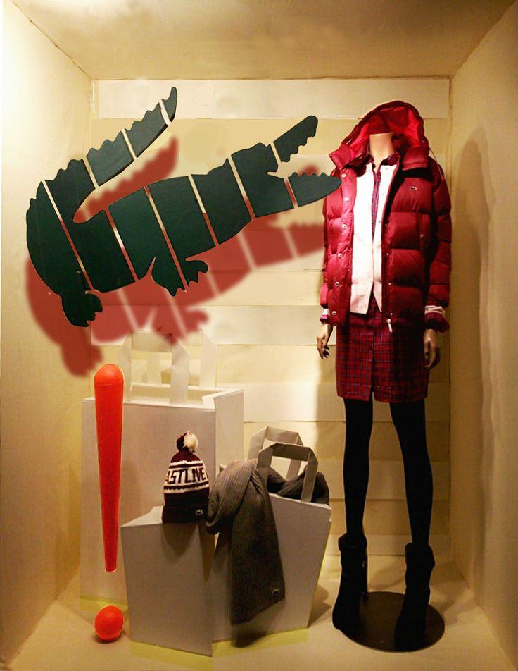 Window Display(winter) - Lacoste on Behance