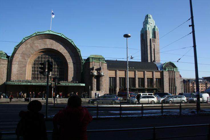 Central Railway Station Helsinki, Finland
