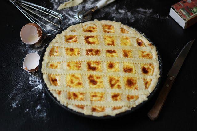 Torta salata al cavolfiore e formaggio. Calorica ma golosissima!