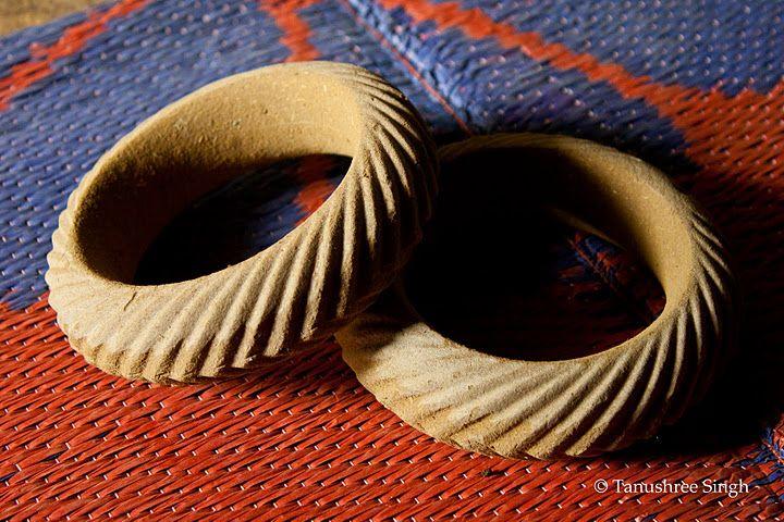 Metal crafts #Jewellery in making at Pranpur village in Madhya Pradesh #India