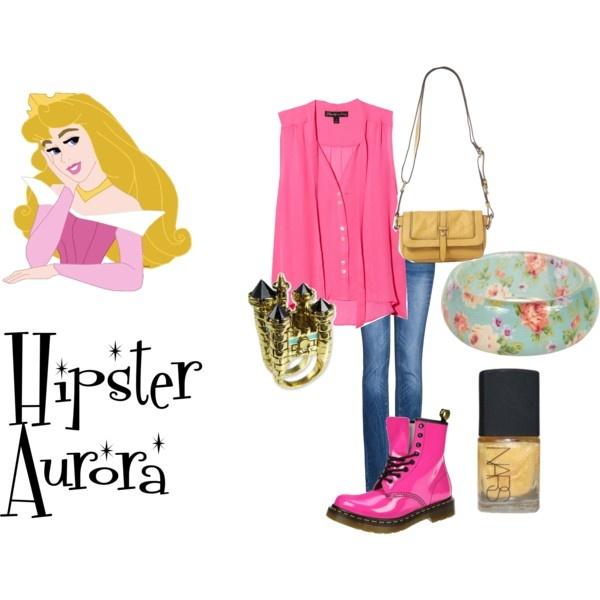 hipster aurora created by theinvernessiepolyvorecom - Hipster Halloween Ideas
