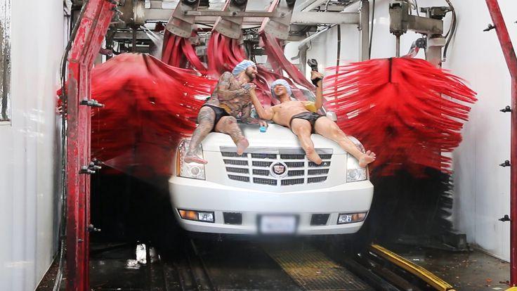 Human Car Wash Challenge!