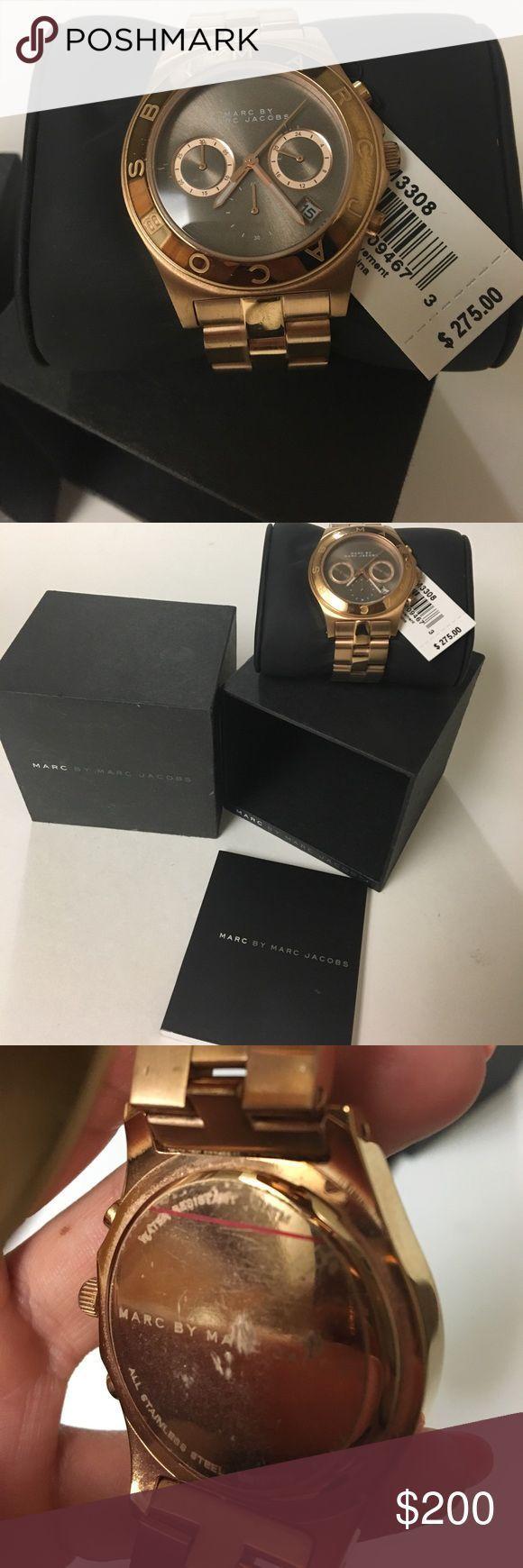 Montre pour femme : Marc Jacobs Rose Gold Women's Watch MINT CONDITION. With original Tags orig