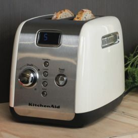Shop Online for KitchenAid 5AKMT223AC KitchenAid Artisan 2 Slice Toaster Almond Cream and more at The Good Guys. Grab a bargain from Australia's leading home appliance store.