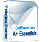 CertExams.com, a leading practice tests and network simulators provider, recently updated Aplus Essentials (R) practice exams (exam code: 220-901).   Check out the new practice exam at: http://www.certexams.com/comptia/a+/a+essentials-exam-details.htm