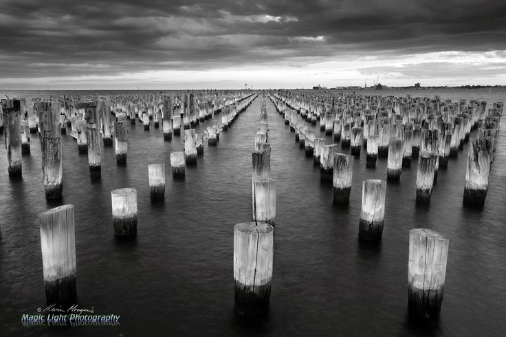 Princes Pier March BW v by Kevin Morgan on 500px