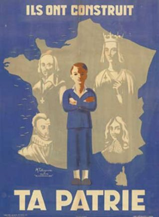 Affiche sous Pétain - Histoire - Arrêt sur images