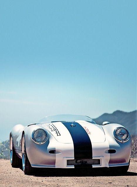Porsche 550 replica Porsche - really like the stripe colors