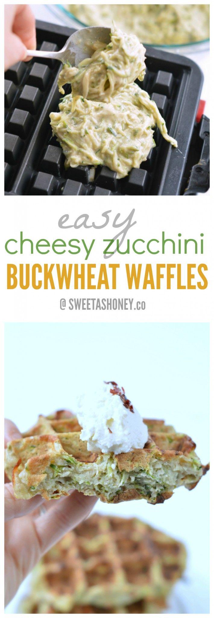 Zucchini Buckwheat Waffles                                                                                                                                                      More