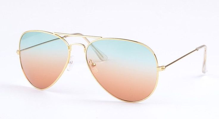 High Quality Brand Designer Women Sunglasses 3025 Pilot Sun glasses Sea gradient shades Men Fashion glasses