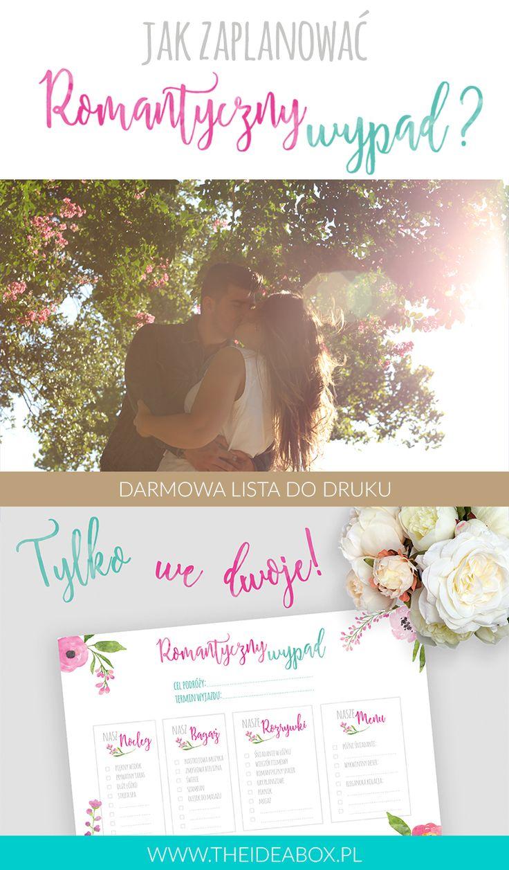 DARMOWA LISTA DO DRUKU Zaplanuj romantyczny weekend tylko we dwoje z Then Idea Box <3
