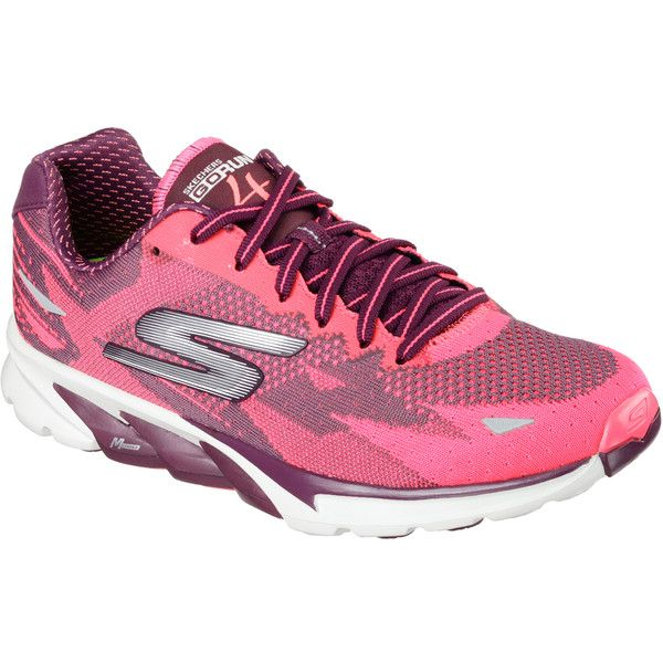 Skechers Women's Skechers Gorun 4 - 2016 Red - Skechers Performance... (265 ILS) ❤ liked on Polyvore featuring shoes, athletic shoes, red, skechers footwear, skechers shoes, skechers, red running shoes and red athletic shoes