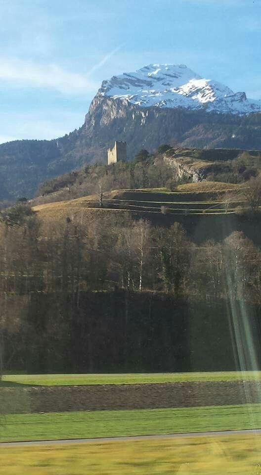 Picture taken from the train between Zurich and Innsbrücke, Austria. Best train trip. www.instagram.com/wendybennettartist
