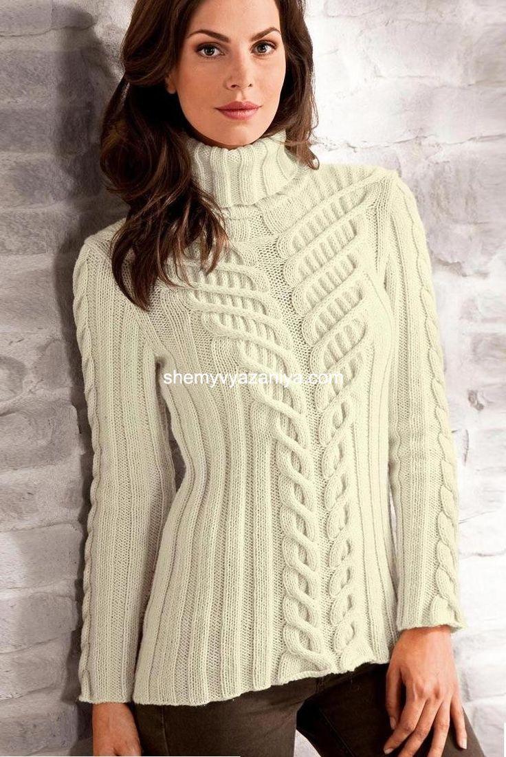 1 day ago - Рубрика: Вязание, Вязание для женщин спицами, свитер, пуловер, шапки, шарфы - Ваш отзыв - вязаный
