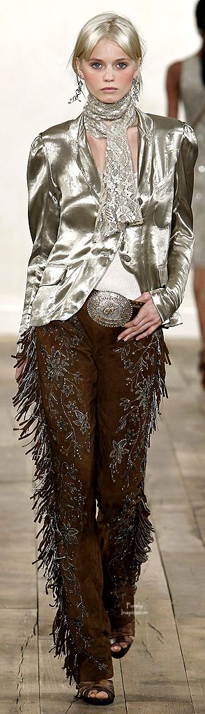 Ralph Lauren - Boho Cowgirl Glam, ONLY  if I was young again....lol..